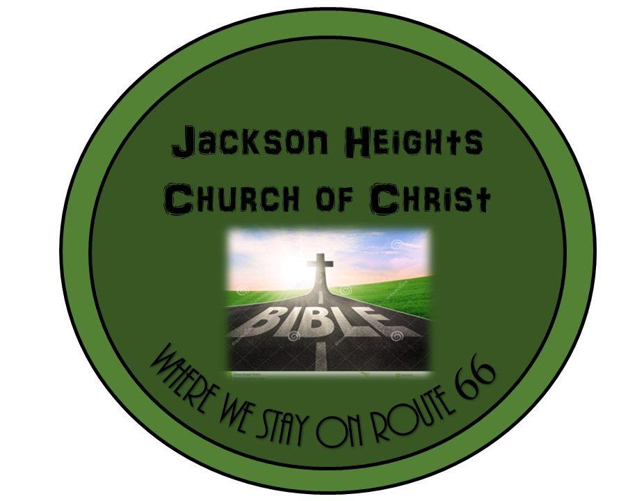 Christian Workbook Activities – Jackson Heights Church of Christ